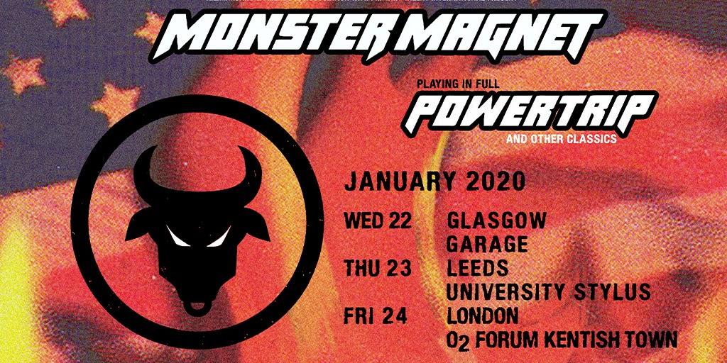 Monster Magnet - Powertrip