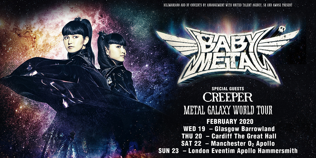 Babymetal Tour 2020.Babymetal Tour 2020 Official Concert Tickets From Myticket