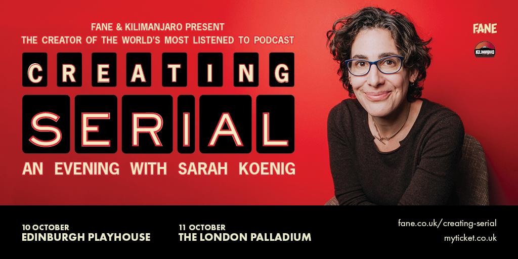 Creating Serial: An Evening with Sarah Koenig