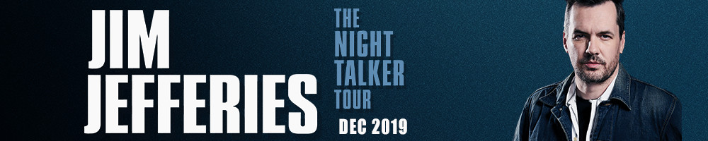JIM JEFFERIES - THE NIGHT TALKER