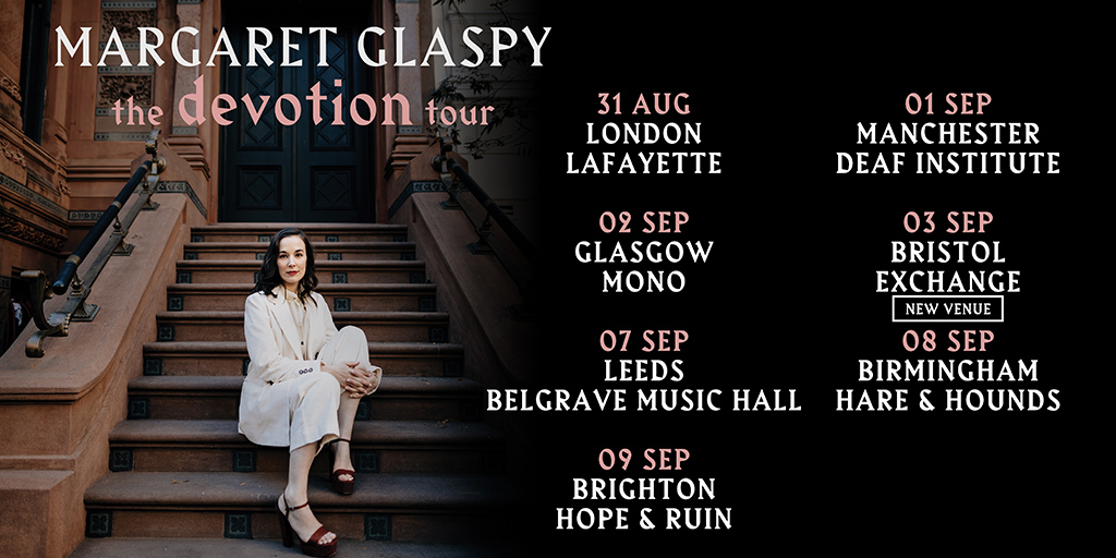 Margaret Glaspy Twitter new shows
