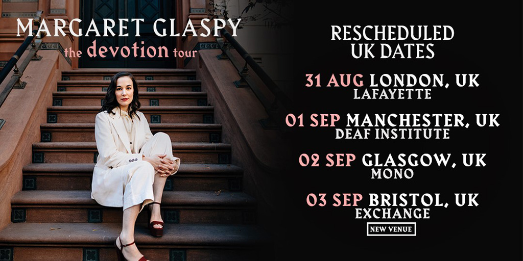 margaret glaspy rescheduled 10am
