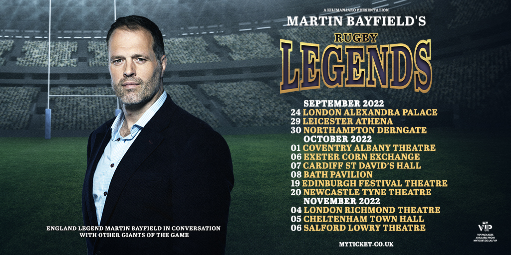 Martin Bayfield's Rugby Legends
