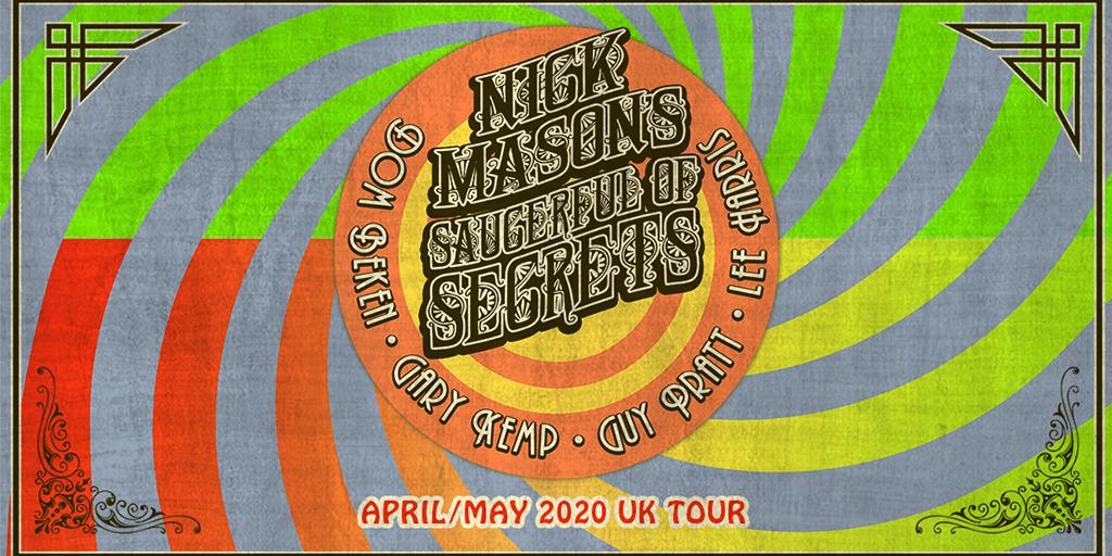 Nick Mason 2020