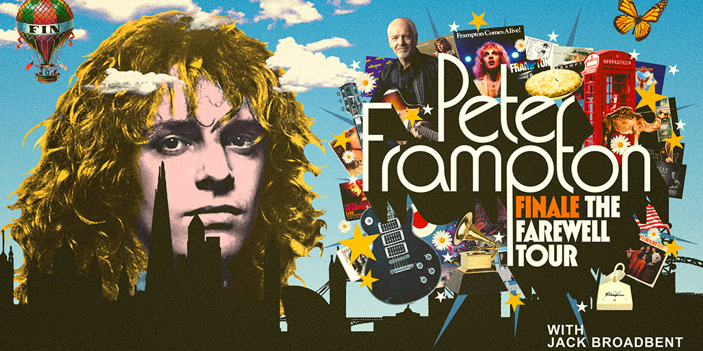 Peter Frampton supports Jan 2020