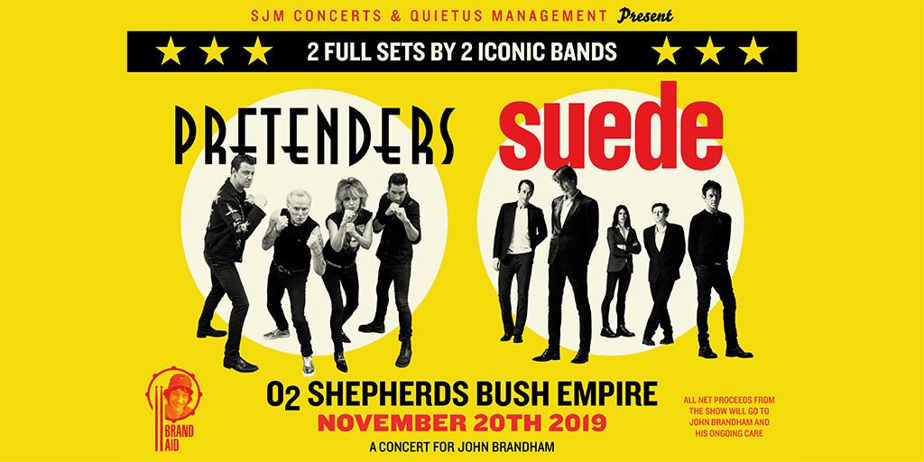 BrandAid feat Pretenders & Suede