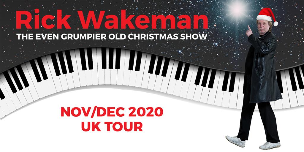 Rick Wakeman Xmas 2020