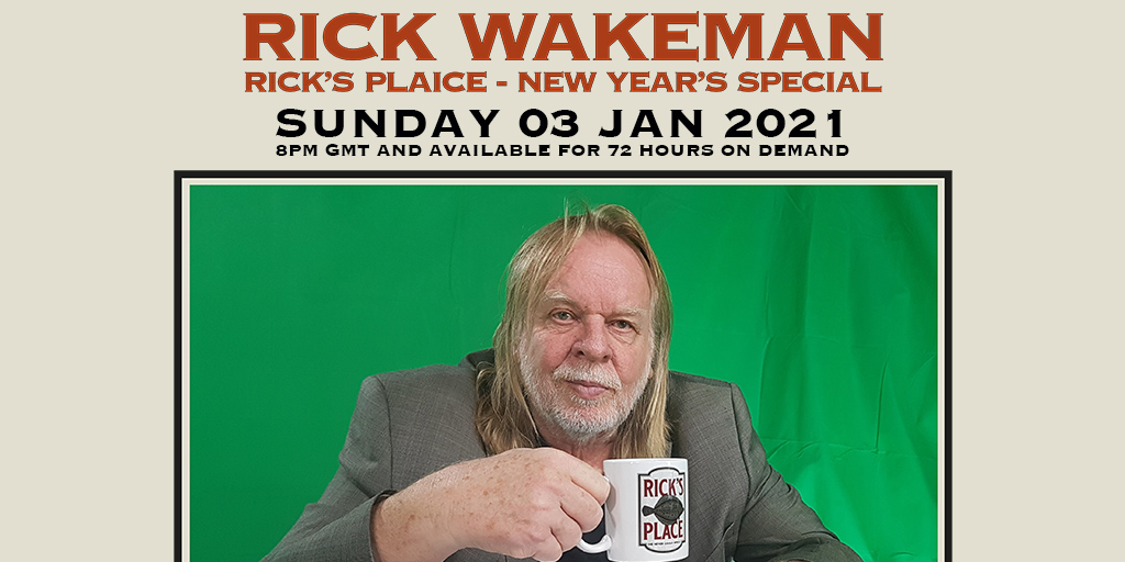Rick Wakeman - Rick's Plaice: New Year's Special