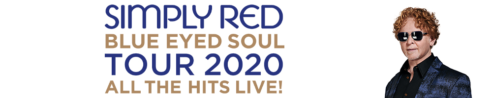 Simply Red - Blue Eyed Soul UK Tour 2020