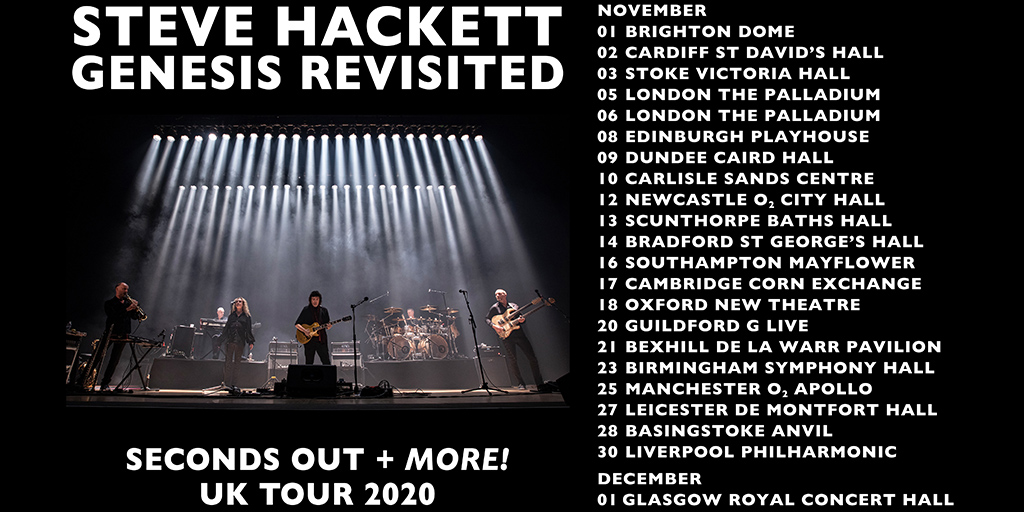 Steve Hackett Genesis Revisited - Seconds Out & More
