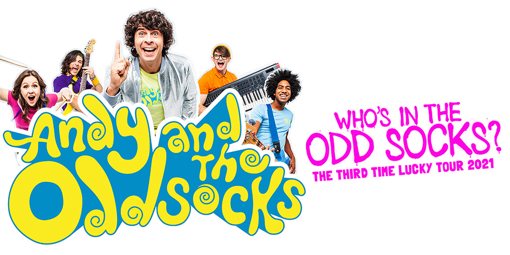 andy and odd socks rescheduled 2021