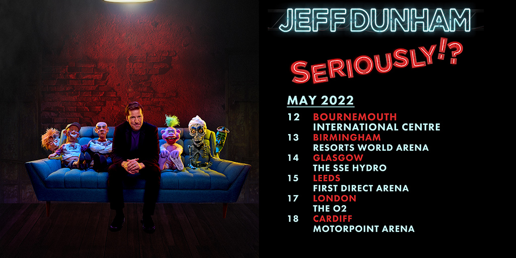 jeff dunham may 2022