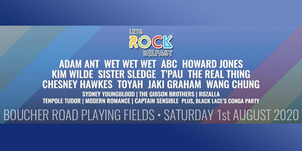 Let's Rock - Belfast