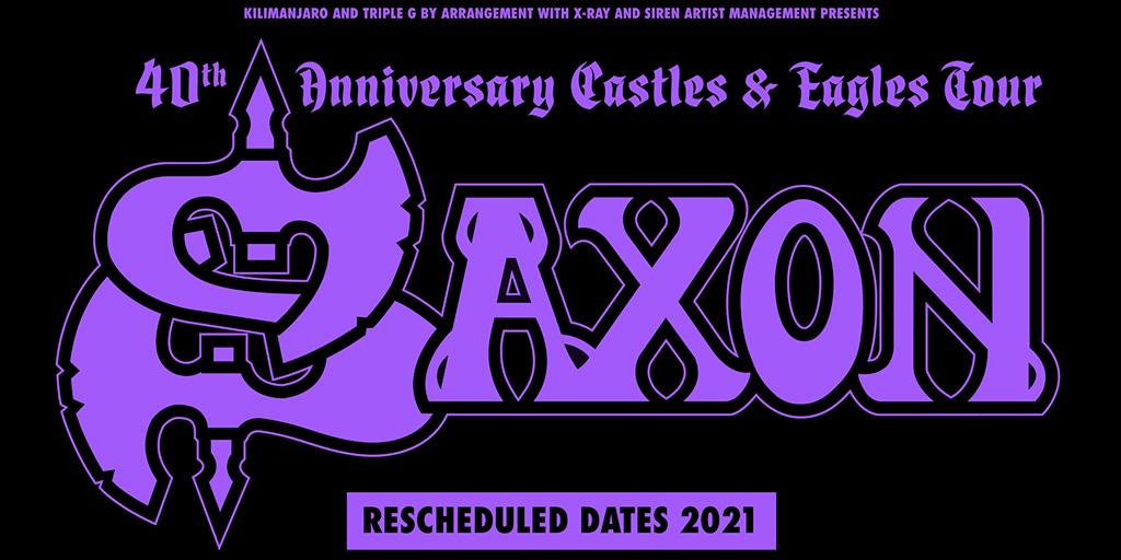 Saxon 2021 tour